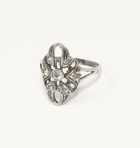 9901392 925er Silber Ring mit Swarovski-Steinen Gr. 59