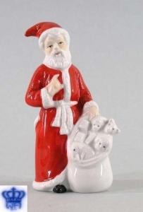 9942140 Porzellan-Figur Weihnachtsmann Weihnachten Wagner & Apel H11cm