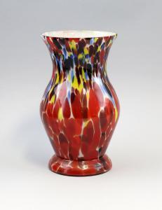 8535021 Glas Vase Endglas um 1910