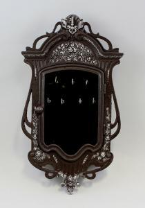 9937360-dss Eisenguss Schlüsselschrank Wandschrank Jugendstil rustikal Vintage