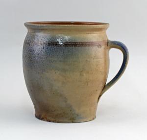 99845556 Keramik Vorrats-Topf Bürgel Thüringen Blauschürze H20cm