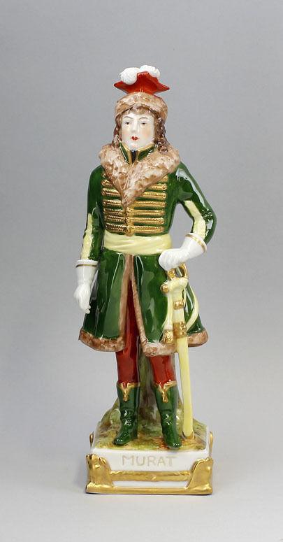 8340206-d Porzellan Figur C. Lysek, Joachim Murat Scheibe-Alsbach Thüringen 0