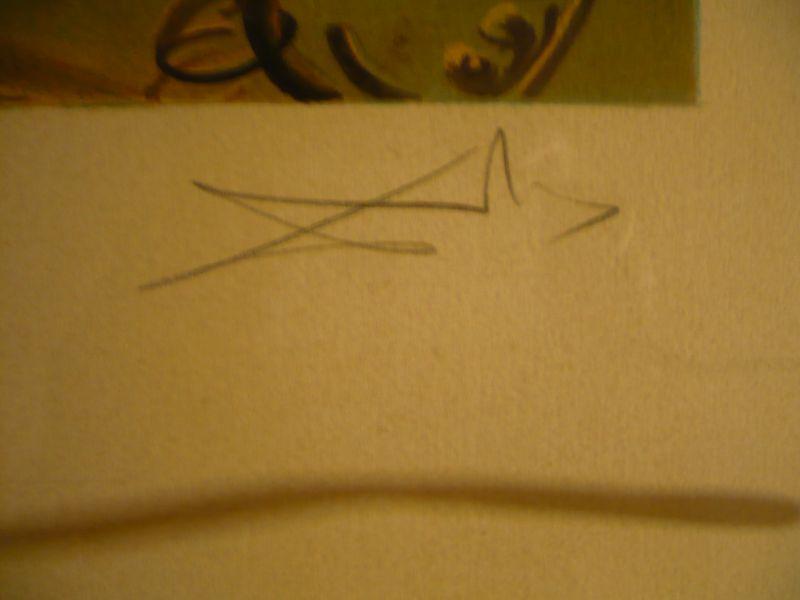 """ARTIST Salvador Dali (1904-1989) *** TITEL """"Monumet imperiale à la femme-enfant"""" *** TECHNIK Lithographie *** AUFLAGE E.A. (epreuve artiste) ***SIGNATUR unten rechts  1"""