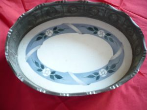 Antike ovale sehr schöne Schale  (2)