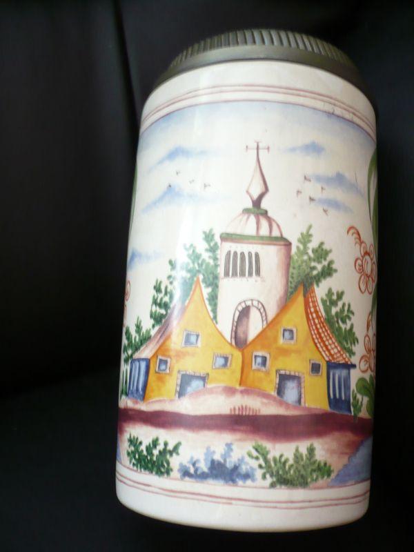 Jahres Krug  König Pilsner 1988(87) 2
