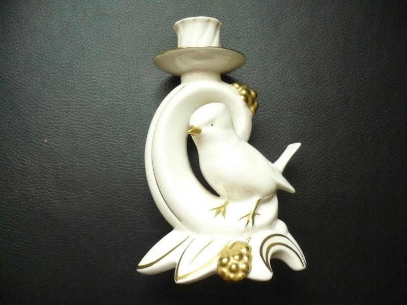 Kerzenleuchter mit Vogel    (166)