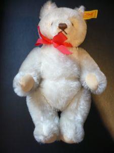 Steif Teddy weiß/beige  (181)