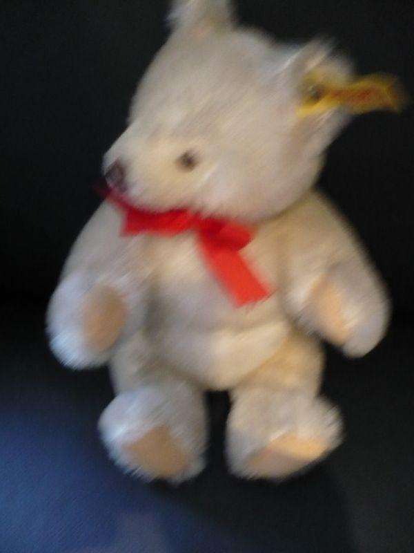 Steif Teddy weiß/beige  (181) 2