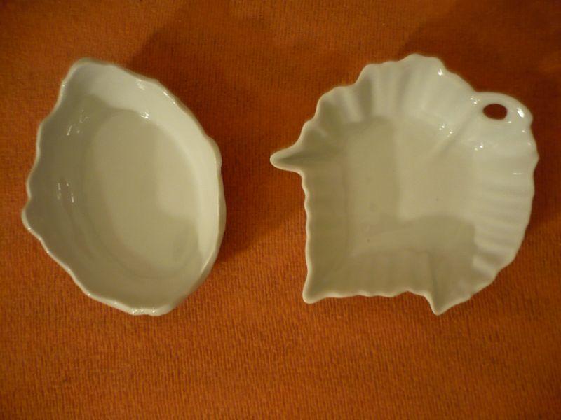 2 Schalen - Weißporcellan von Limoges  (232)