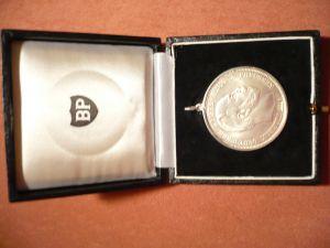 Münzanhänger Fünf Mark, Deutsches Reich Silber in Schatulle (294)