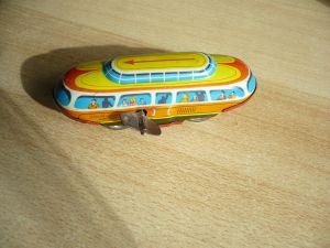 Blech Bahn mit Schlüsselwerk (321)
