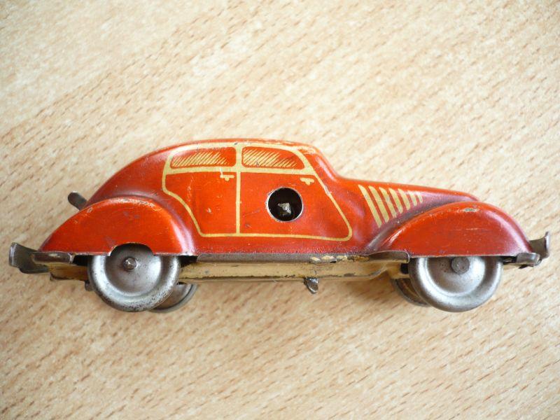 Blechauto - Foreign - Schlüsselwerk - selten - Made in Germany (350) 2