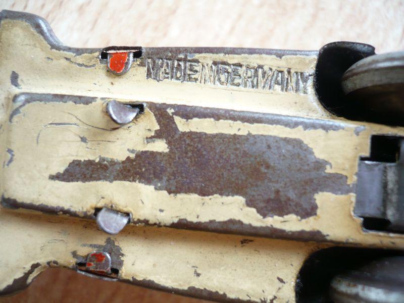 Blechauto - Foreign - Schlüsselwerk - selten - Made in Germany (350) 5