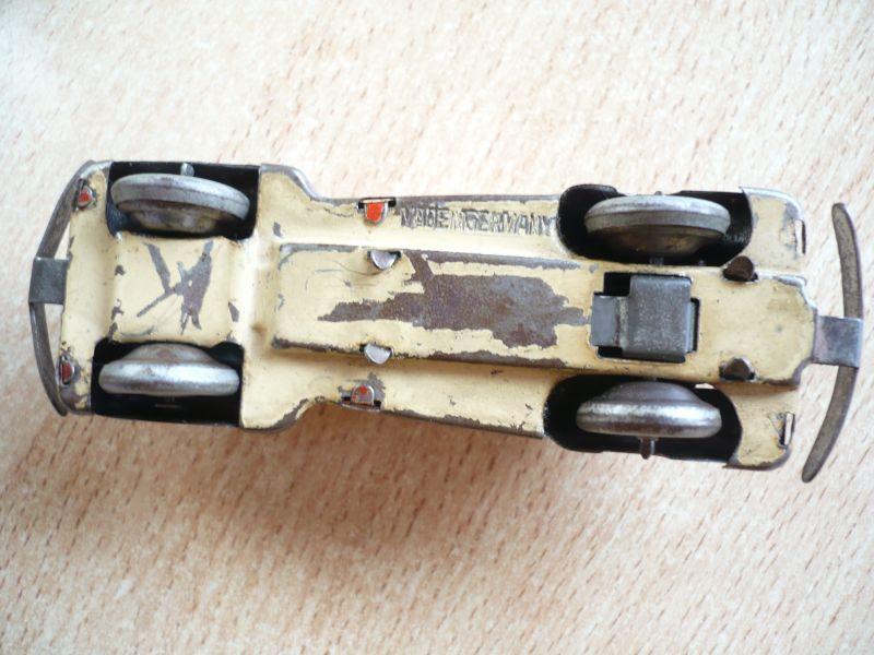 Blechauto - Foreign - Schlüsselwerk - selten - Made in Germany (350) 6