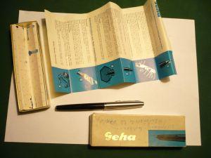 Füller Geha 715 BB in org. Karton  (363)