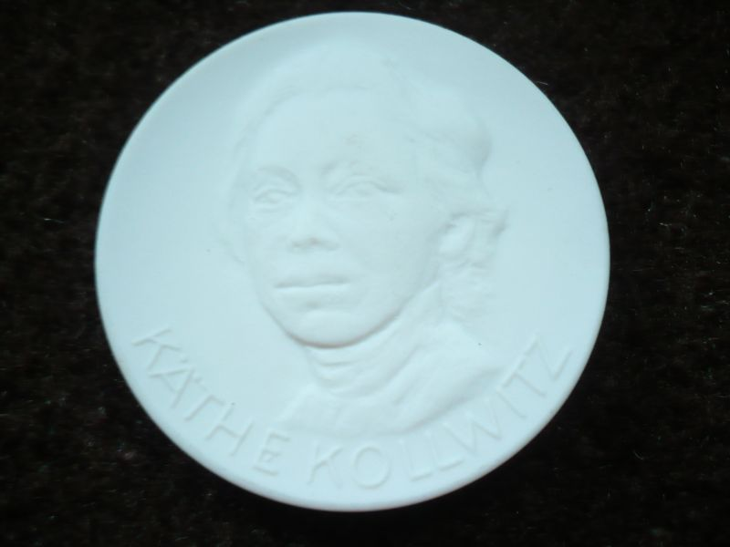 Meissen Porzellan Münze - Käthe Kollwitz (404)