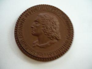 Meissen Porzellan Münze - Porzellan Erfinder- 1682-1719 (409)