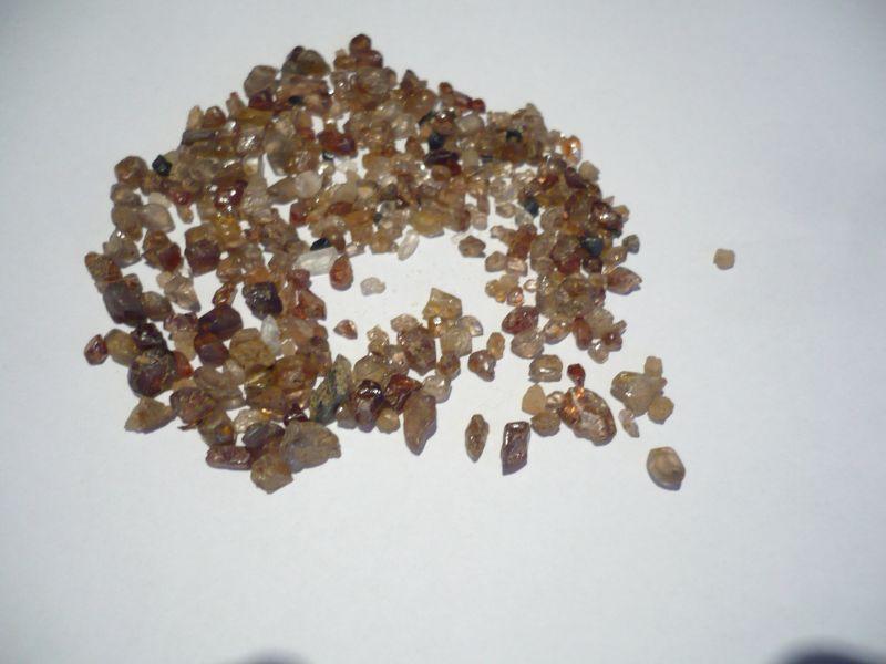 Zirkonen Rohsteine 125ct (418)