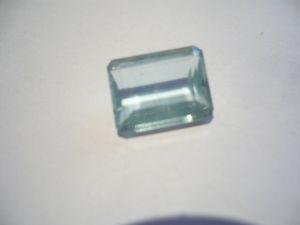 Aquamarin Edelstein - achteckig facettiert 4,1ct (422)