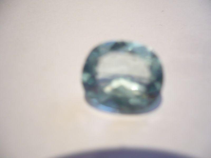 Aquamarin Edelstein - oval facetten Schliff 3,0ct (423)