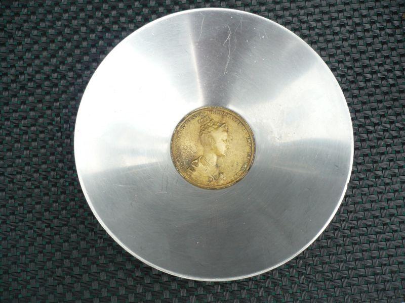 Medaille Maria Anna Augusta Ferdinandi I. Imp. et Regis Ø 4,5 cm - Münzschale Ø 13,8cm (429)