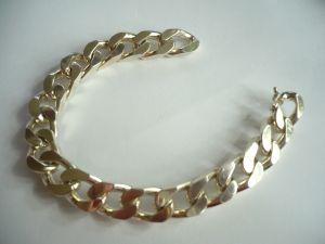 Massives Silberarmband - 925/000 (444)