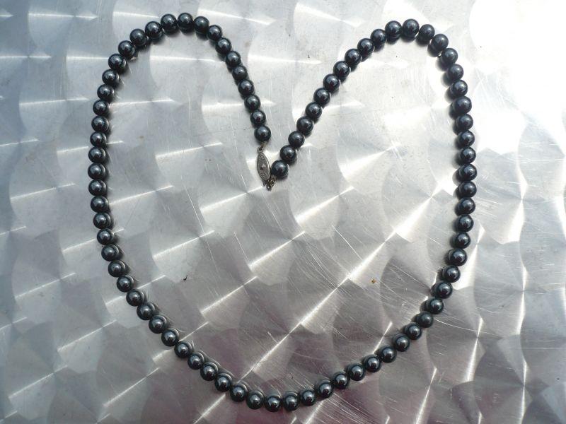 Hämatit Perlenkette (491)