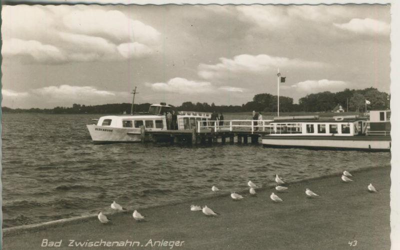 Bad Zwischenahn v. 1970 Anleger mit Schiff Oldenburg (AK245) 0