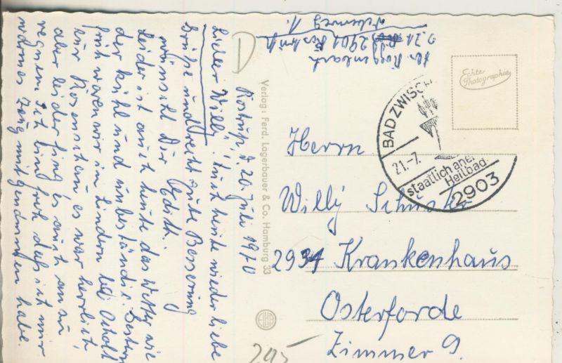 Bad Zwischenahn v. 1970 Anleger mit Schiff Oldenburg (AK245) 1