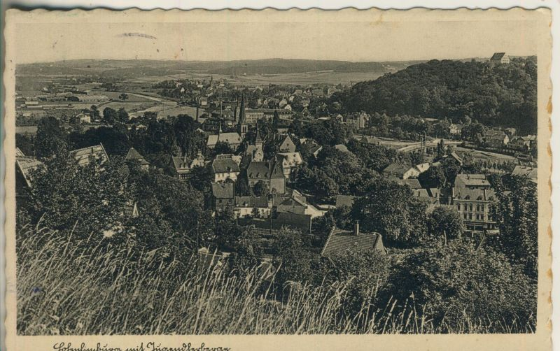 Hohenlimburg v. 1954 Teil-Stadt-Ansicht (AK249) 0
