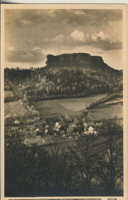 Königstein v. 1935 Dorfansicht (AK693)
