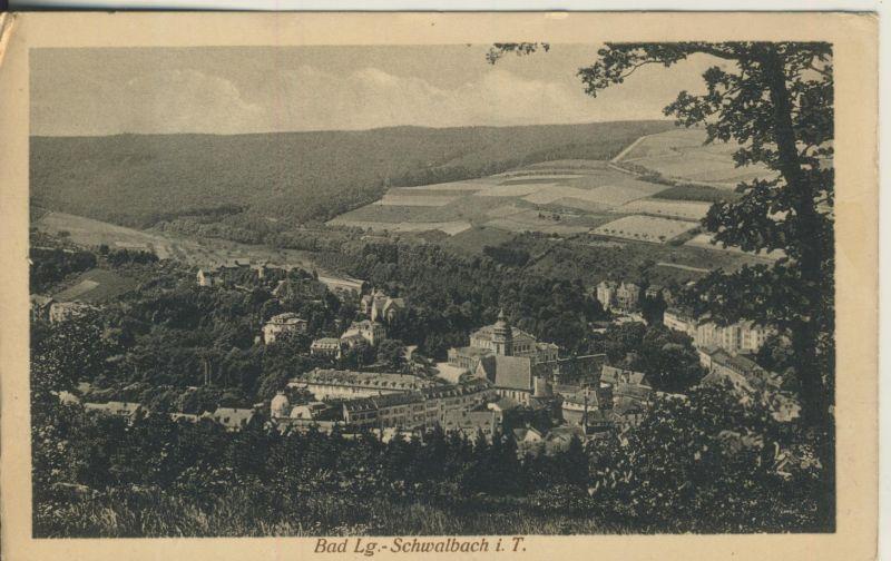 Bad Lg.-Schwalbach v. 1917 Dorfansicht (AK695)
