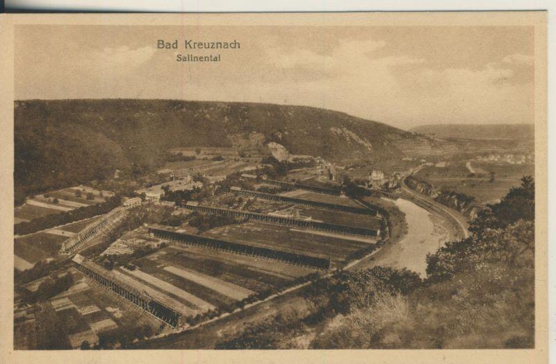 Bad Kreuznach v. 1923 Salinental (AK696)