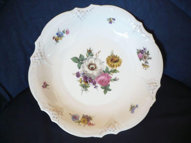 Große florale Schale (517)
