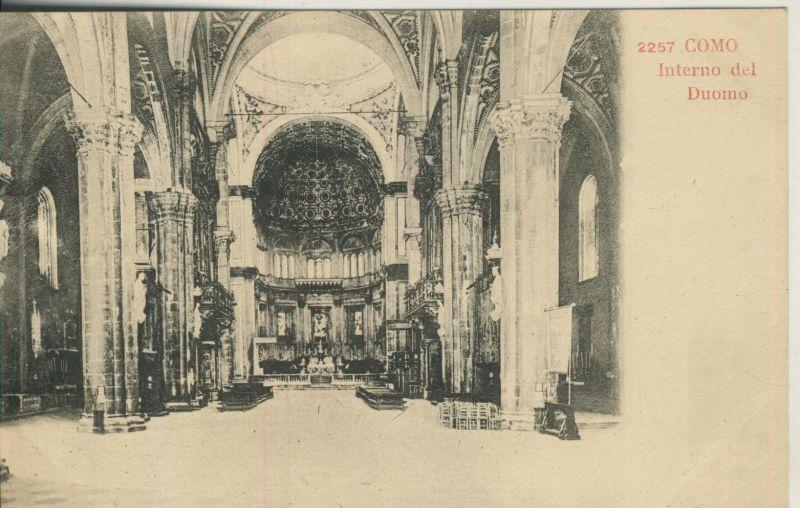 Como v. 1914 Interno del Duomo (AK1038) 0