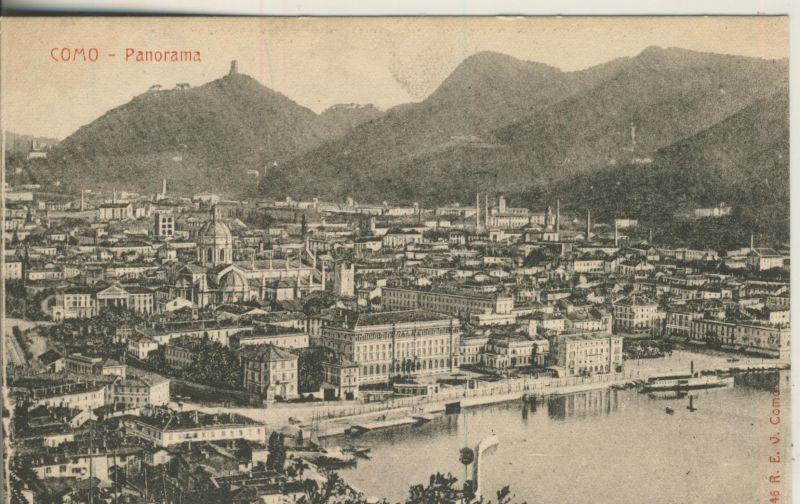 Como v. 1914 Panorama - Stadtansicht (AK1039) 0