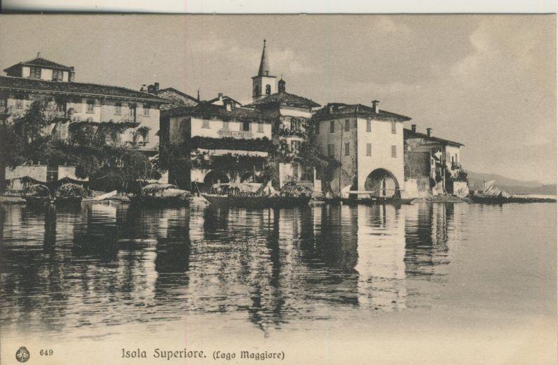 Lago Menaggio -Isola Superiore v. 1914 (AK1044) 0