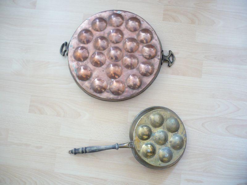 2x Pfannkuchen Backformen (531)