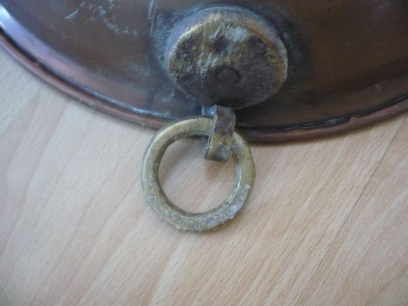 Kupfer-Sieb mit Aufhängering (Messing) (532)  2