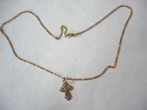 Goldkette mit Kreuz-Anhänger (542)