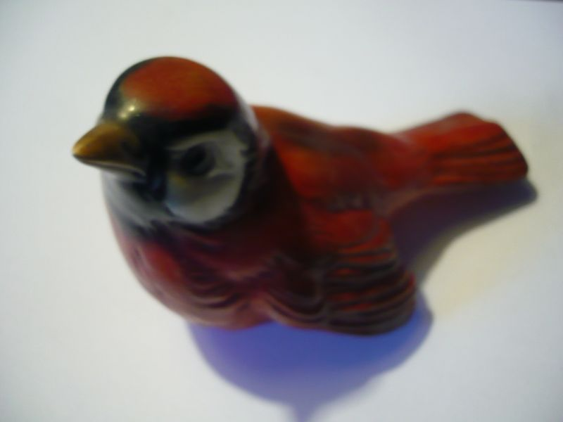 Roter Vogel von Goebel (595)