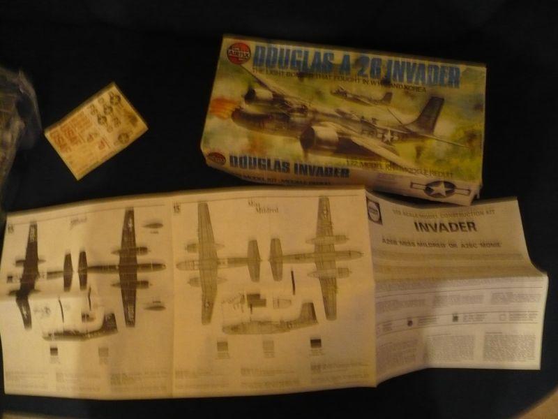 Flugzeug-Bausatz in org. Karton DOUGlas A-26 INVADER (601)