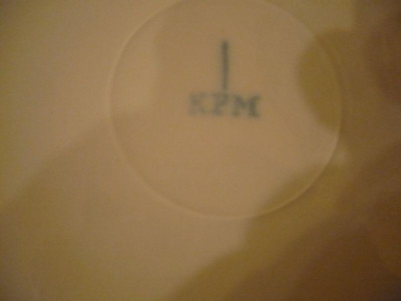 KPM Kuchenteller \