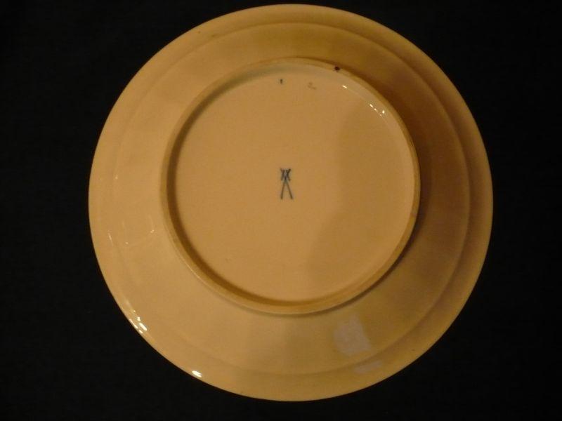 Meissen-Schale mit Gold-Dekor (603) 1
