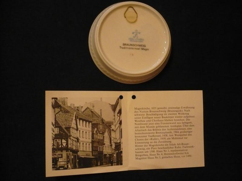 3x Wandteller in org. Karton - Ansichten von Braunschweig (617)  1