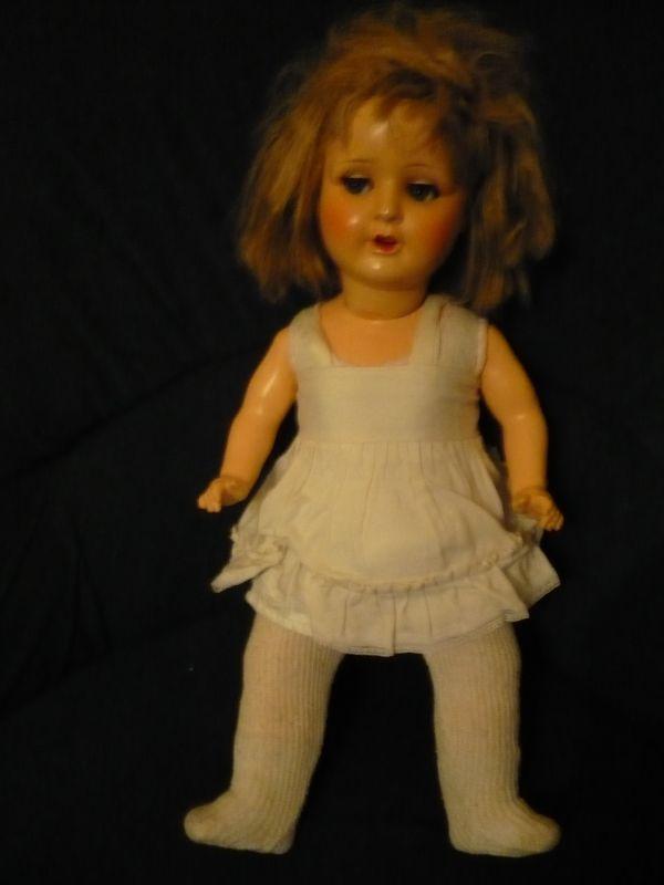 Puppe - Massekörper - älter (622) 1