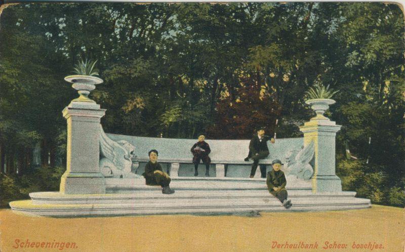 Scheveningen v. 1905 Verheulbank Schev. Boschjes (AK1130)