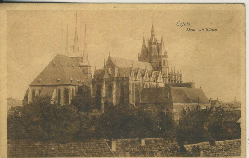 Erfurt v. 1933 Der Dom von Süden (AK1131)
