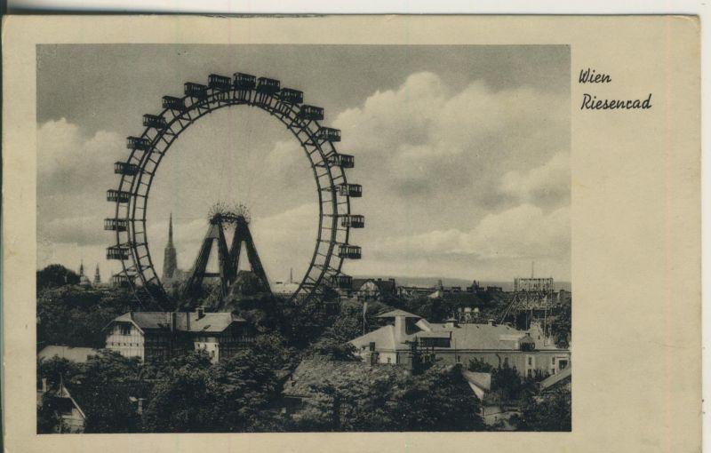 Wien v. 1939 Das Riesenrad (AK1178)