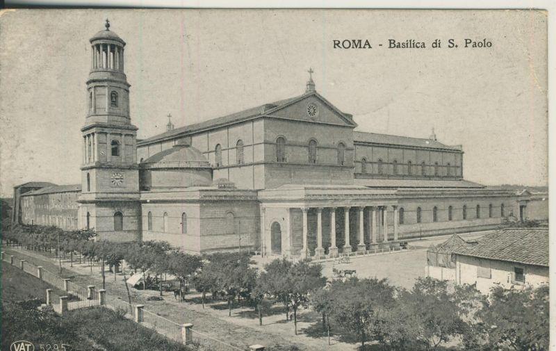 Roma v. 1918 Basilica di S. Paolo (AK1179)